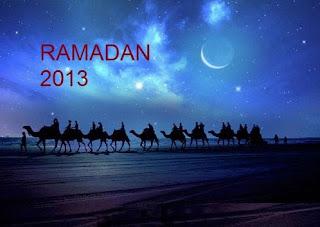 Selamat Menyambut 1 Ramadhan 1434 H Rabu 10 Julai
