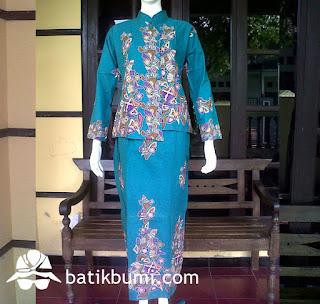setelan rok dan blouse batik