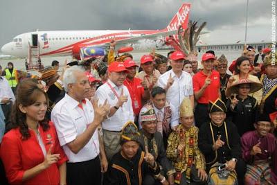 10,000 Tiket Percuma Dari AirAsia
