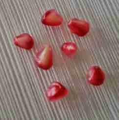 como fazer simpatia com a semente de romã