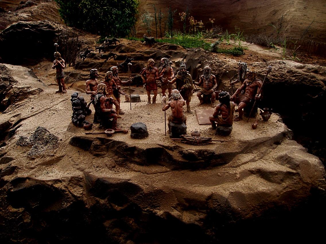 Reunión de aborígenes guanches