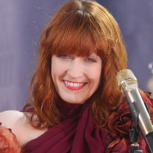 Florence Welch fringe hairstyle - Seventies Texture