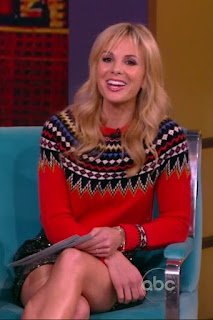 elisabeth hasselbeck smiles and thighs