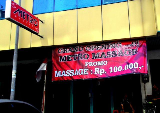 Metro massage kelapa gading jakarta100bars nightlife reviews best nightclubs bars and - Salon massage happy end paris ...