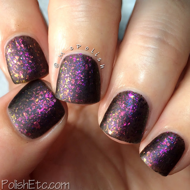 Loaded Lacquer - Beauty & the Beast Mode - McPolish - Gym-timidation matte