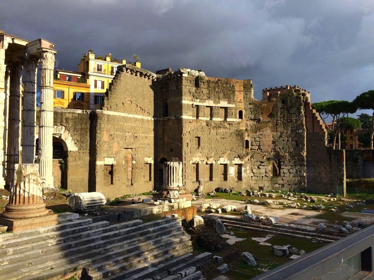 Rome Stormy Skies