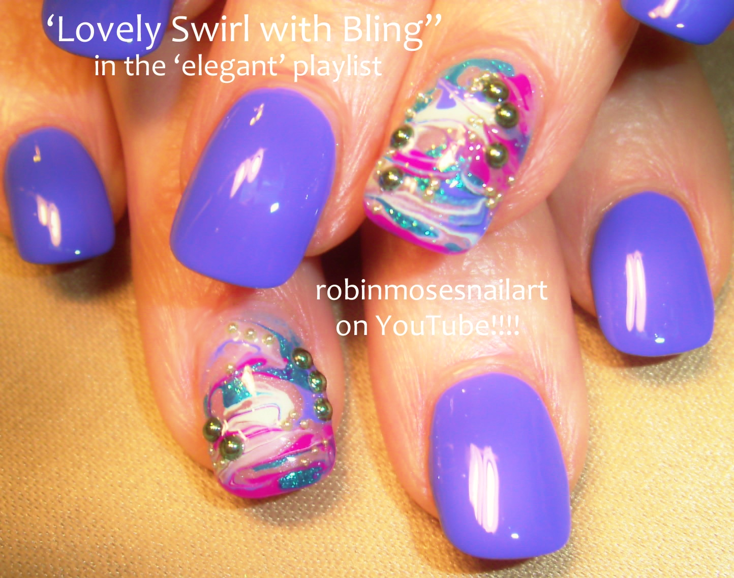 Robin moses nail art black and white no water marble water marble nail design marble nails marbling nails how to marble prinsesfo Gallery