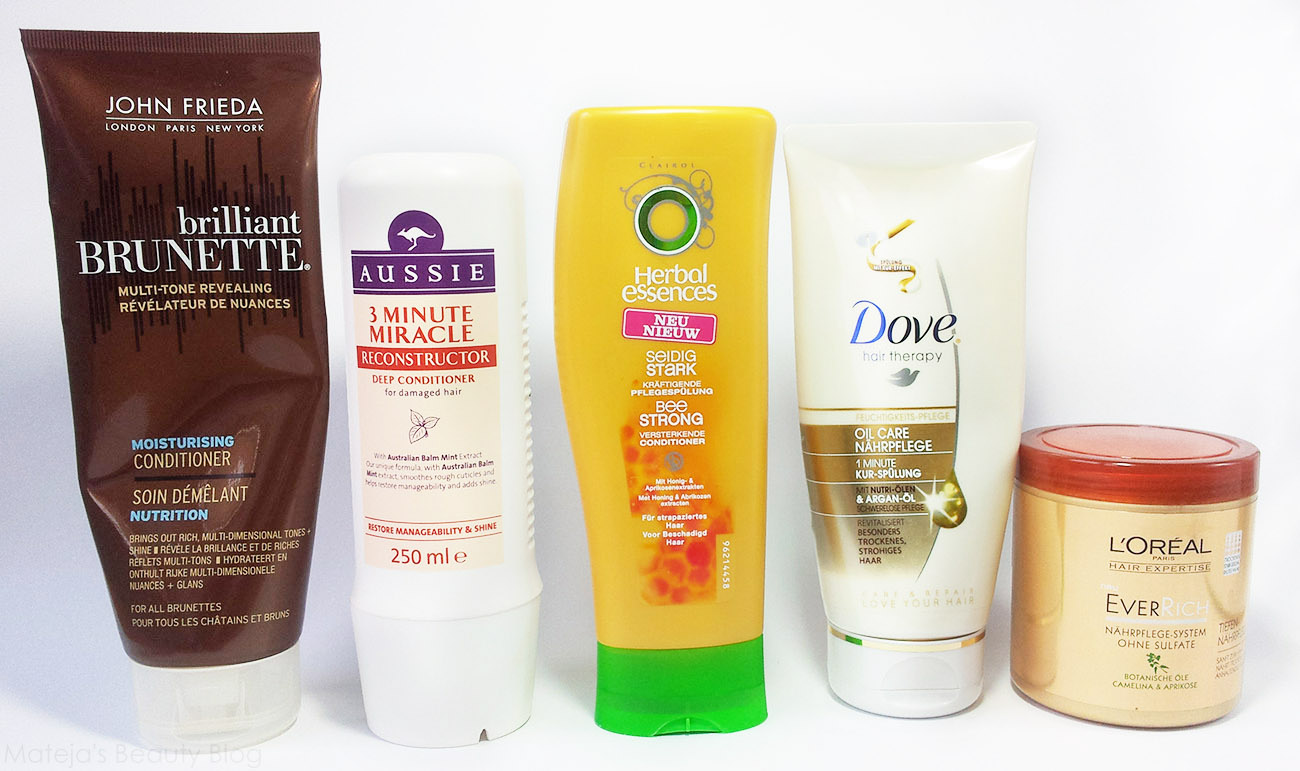 Top 5 Drugstore Conditioners - Matejas Beauty Blog