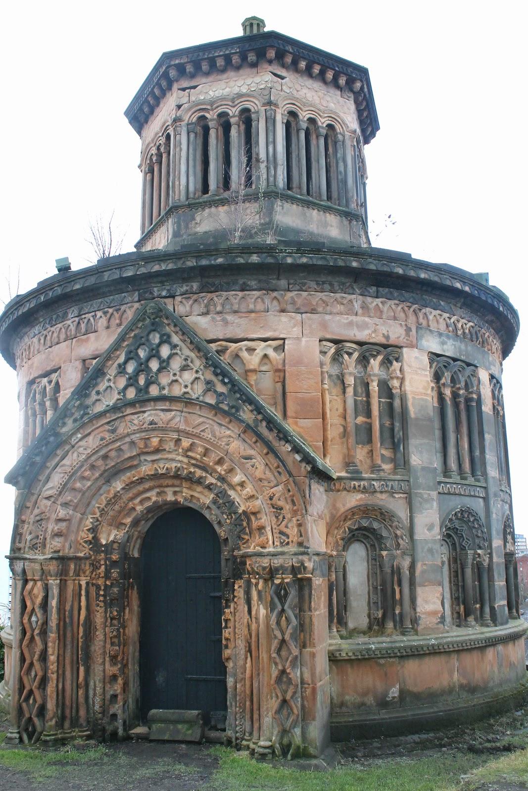 Glasgow Necropolis tomb