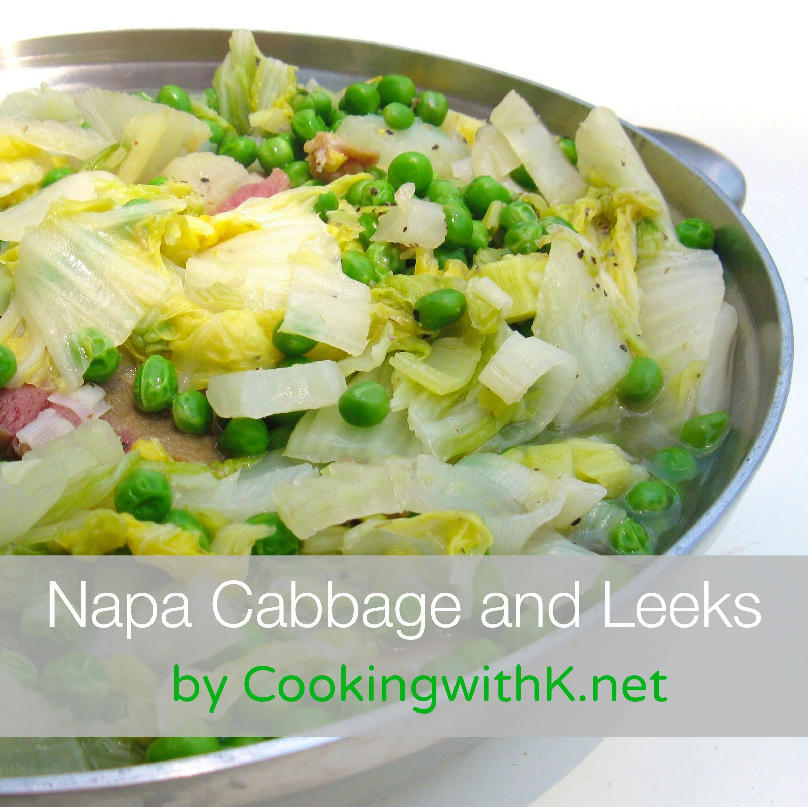 Napa Cabbage and Leeks
