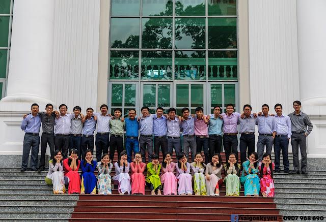 Chụp ảnh kỷ yếu TPHCM - Đại học Sư phạm TPHCM