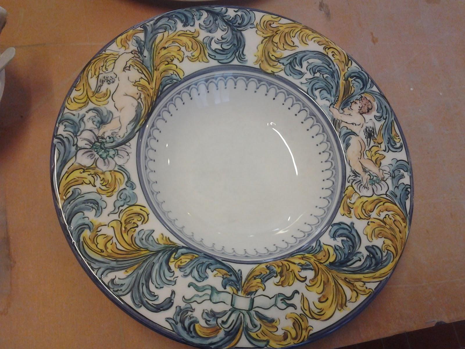 Officina laboratorio ceramica decorazione for Decorazione ceramica