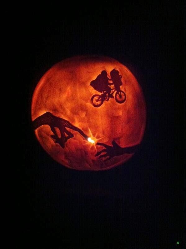 ET Finger Pumpkin