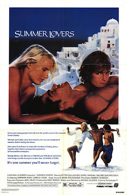 Watch Summer Lovers 1982  BRRip Hollywood Movie Online | Summer Lovers 1982  Hollywood Movie Poster
