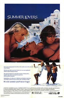 Watch Summer Lovers 1982  BRRip Hollywood Movie Online | Summer Lovers 1982  Hollywood Movie Poster