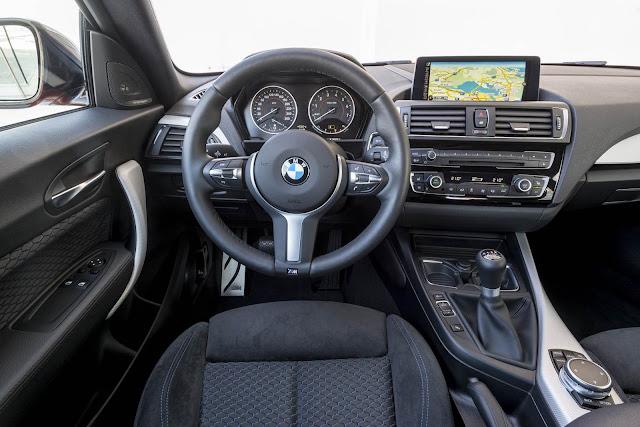 BMW M135i x Audi S3 - interior