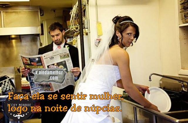 noiva e mulher