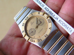 OMEGA CONSTELLATION TWO TONE PART J - QUARTZ