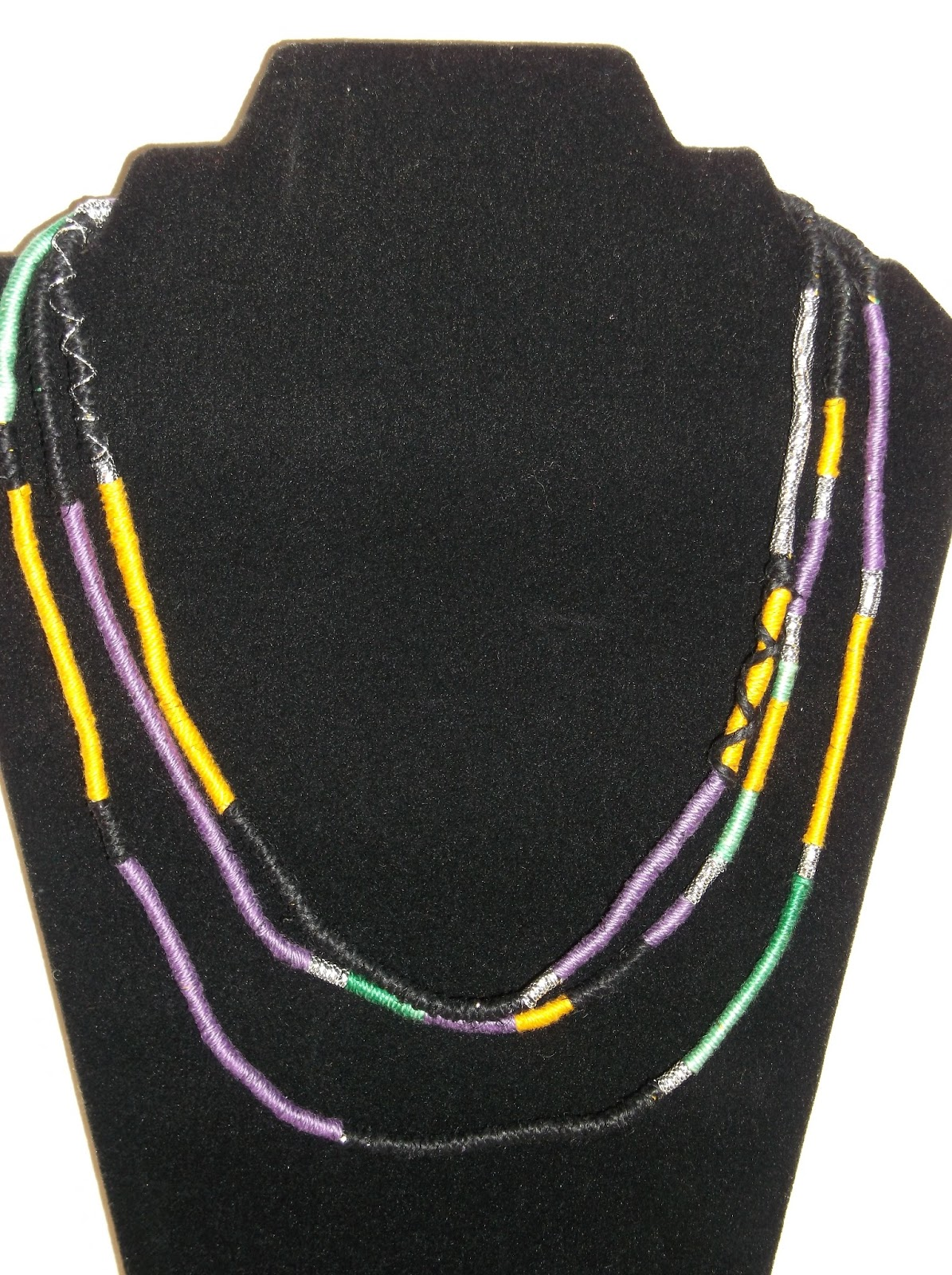 New! My Roots African Tribal Handmade Necklace