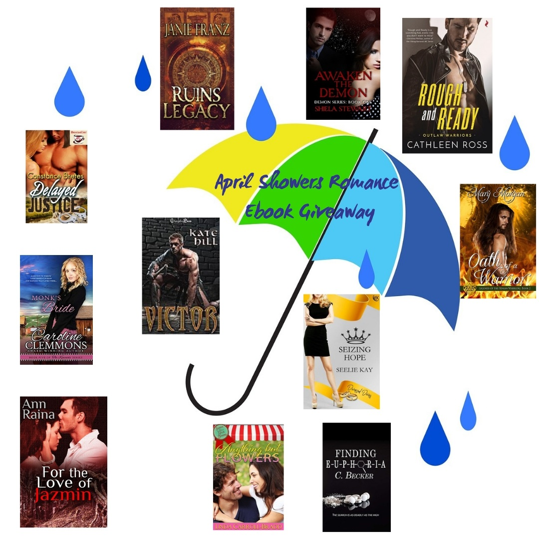 APRIL SHOWERS ROMANCE GIVEAWAY