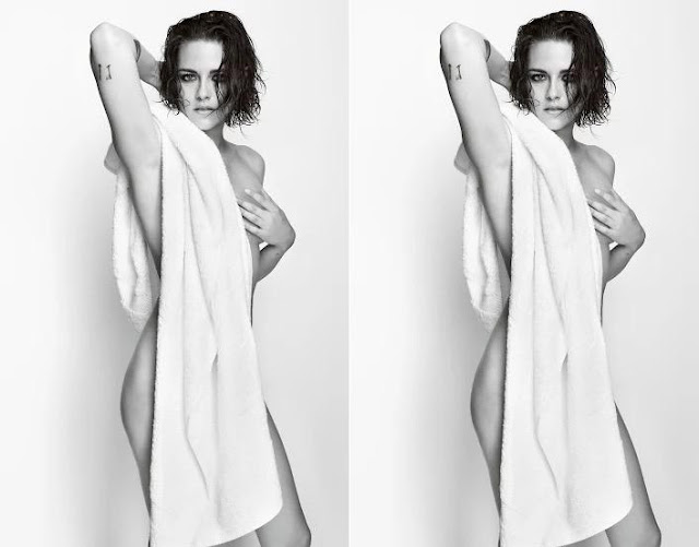 Kristen Stewart strips naked for the Towel Series