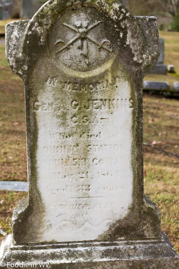 Albert Jenkins Grave Spring Hill Cemetery Huntington, WV
