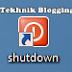 Cara Memasang Shortcut Shutdown Pada Desktop