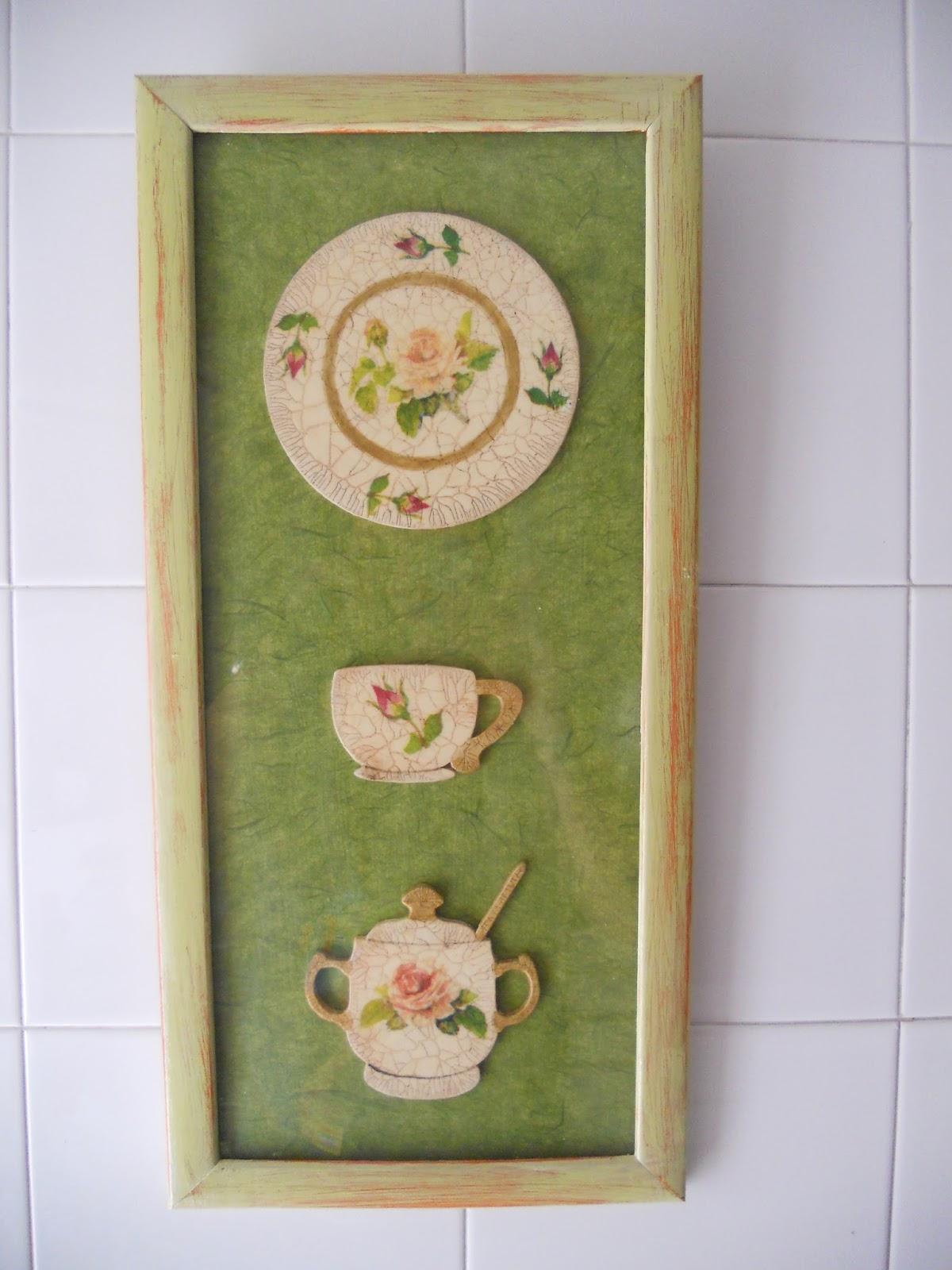 Carmen manualidades y camisetas cuadros cocina - Cuadros en la cocina ...