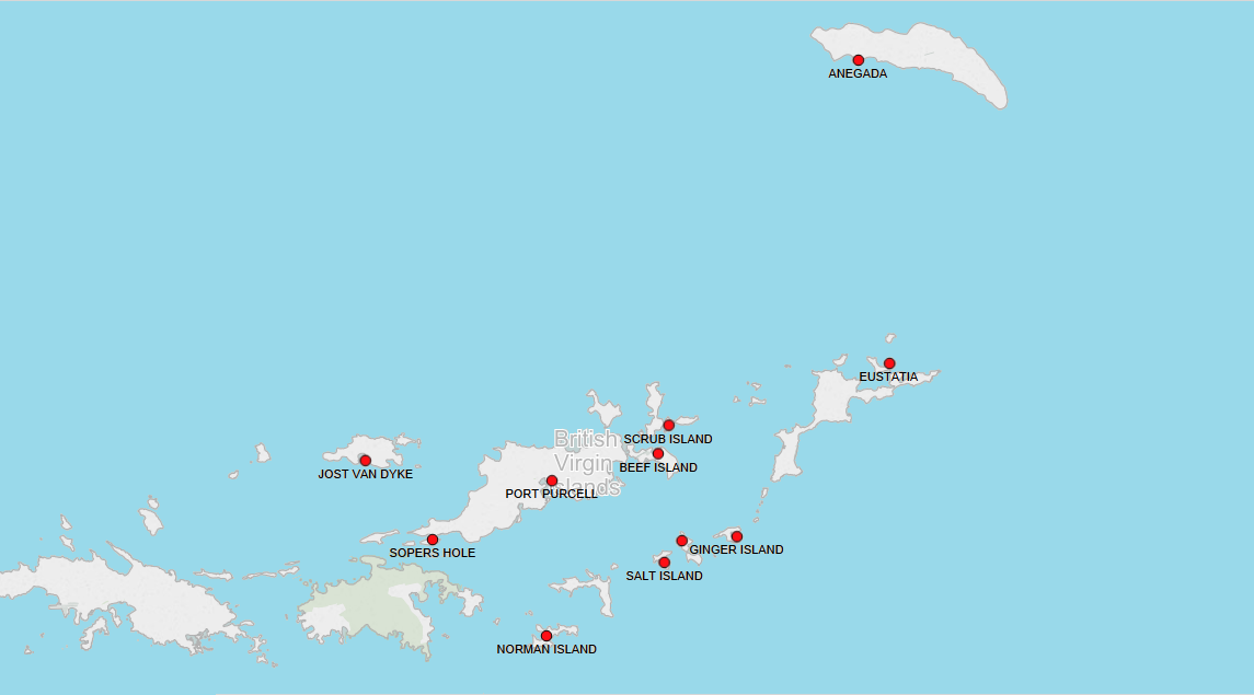 PORTS IN BRITISH VIRGIN ISLANDS