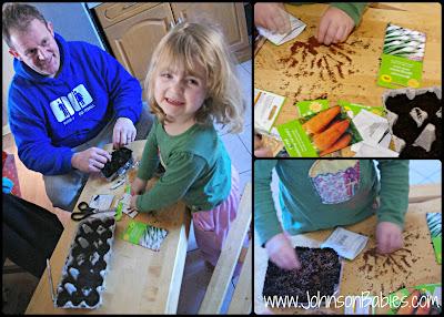 Introducing children to gardening