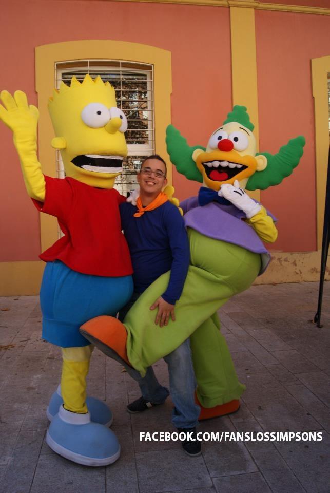 Los Simpsons Ayudando A Bart 2 Milftoon