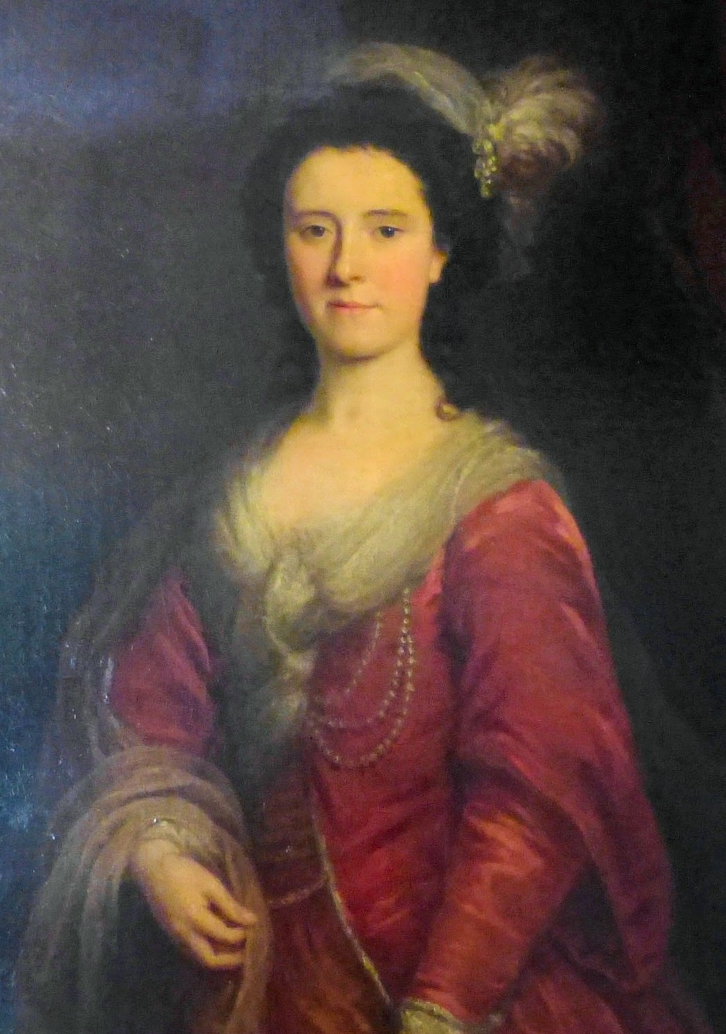 Probably Mrs John O'Neill - a painting at Stourhead