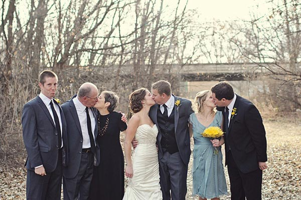 Forever Alone Wedding Photo