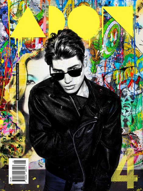 Sam Way on Cover of ADON Magazine issue 4