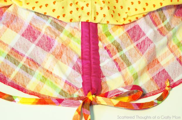 how to make a layered circle skirt