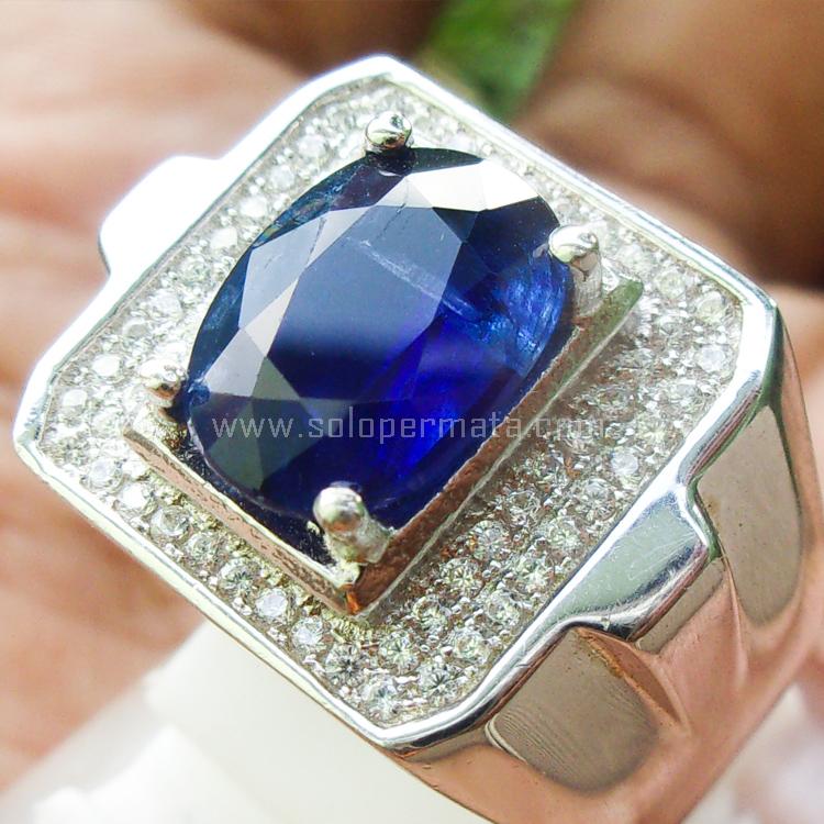 Cincin Batu Permata Blue Keyanite - SP760