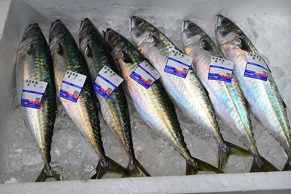 魚屋 生サバ