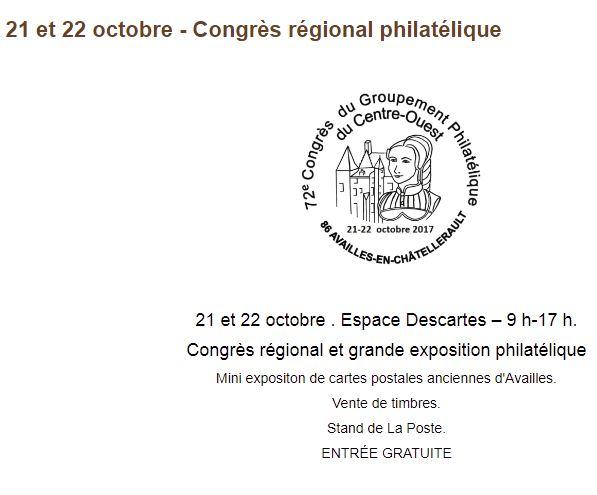 21 et 22 octobre - Espace Descartes