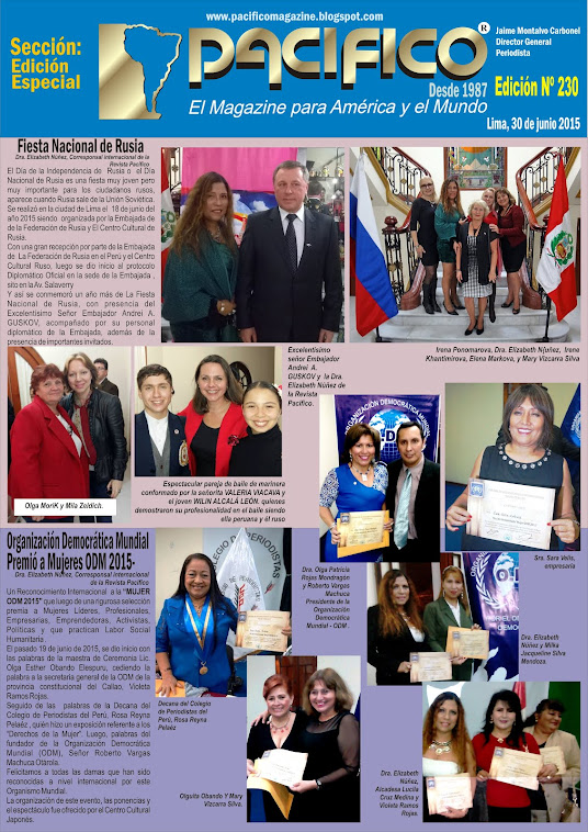 Revista Pacífico Nº 230 Edición Especial