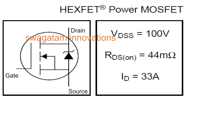 Irf540n Mosfet Specifications Datasheet Explained Diagram Wiring Jope