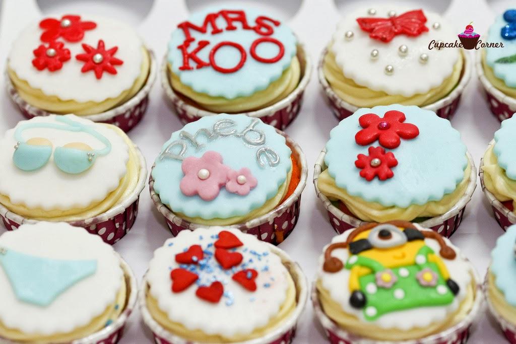 Custom Made Cupcakes In Kota Kinabalu KK