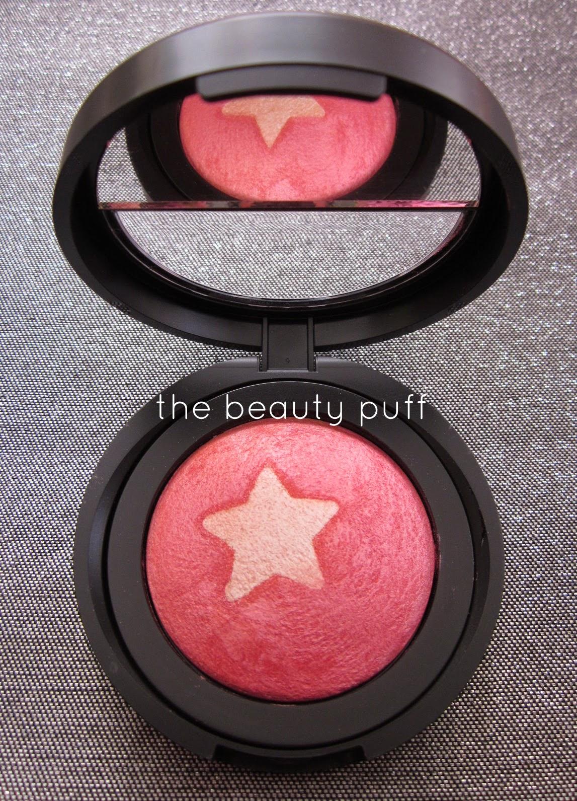 laura geller blush n highlight rose starlight - the beauty puff