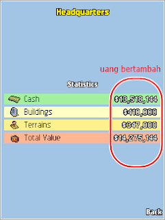 Cheat game java sukses
