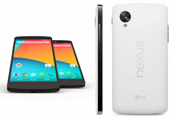 Nexus 5 is powered by a Qualcomm SoC S800 at 2.26 GHz matched 2GB of RAM and an Adreno 330 graphics processor. It operates under the new version Android 4.4 KitKat.