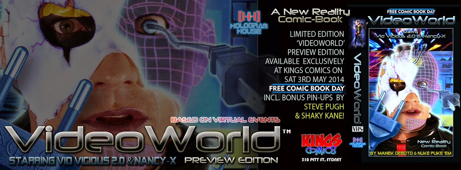 VideoWorld - Coming Soon from Hologram House