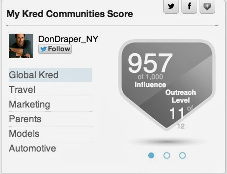 Don Draper has @Kred