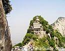 Mt. Huashan in Xian