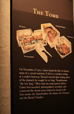 Examples of Exhibition Descriptions in the Tutankhamun Exhibit