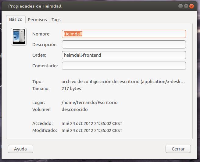 Mi divorcio con Windows.: Instalando Heimdall.
