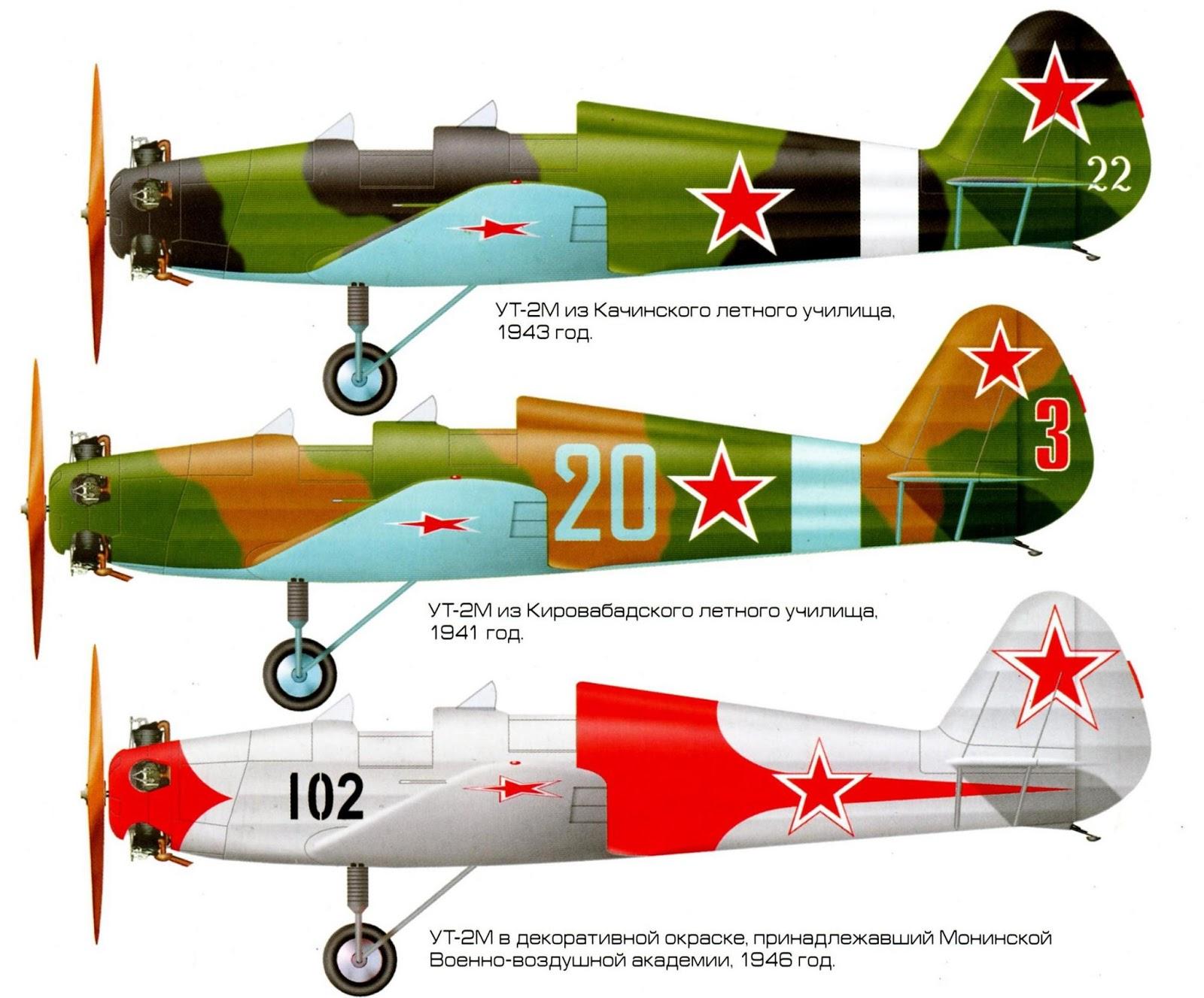Окраска УТ-2